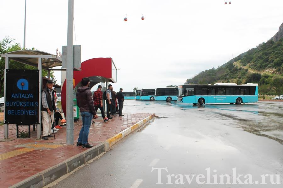 Канатная дорога в Анталии