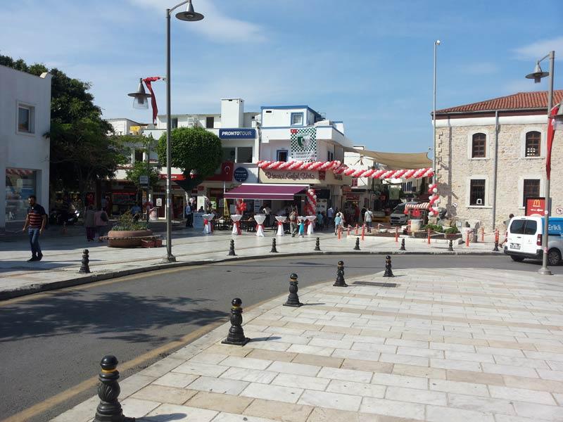 Улицы города Бодрум