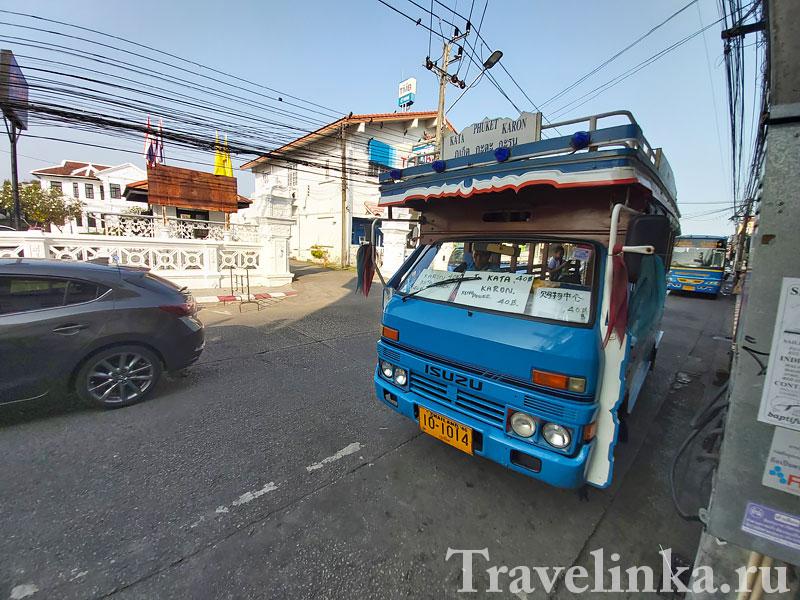 Автобус на Кату