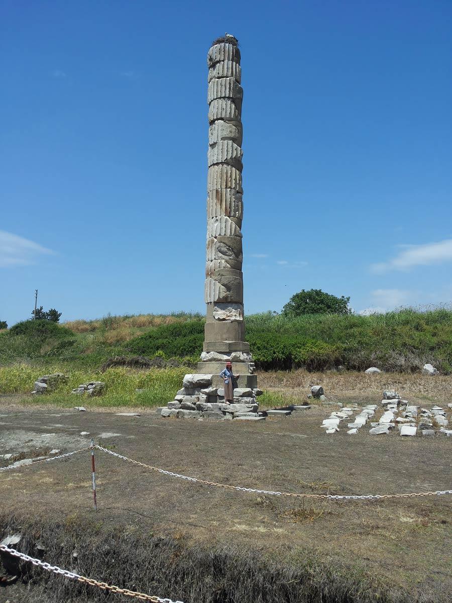 Что осталось от храма Артемиды