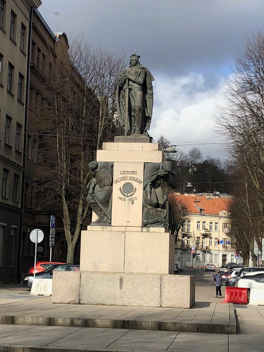 Памятник Витовту Великому