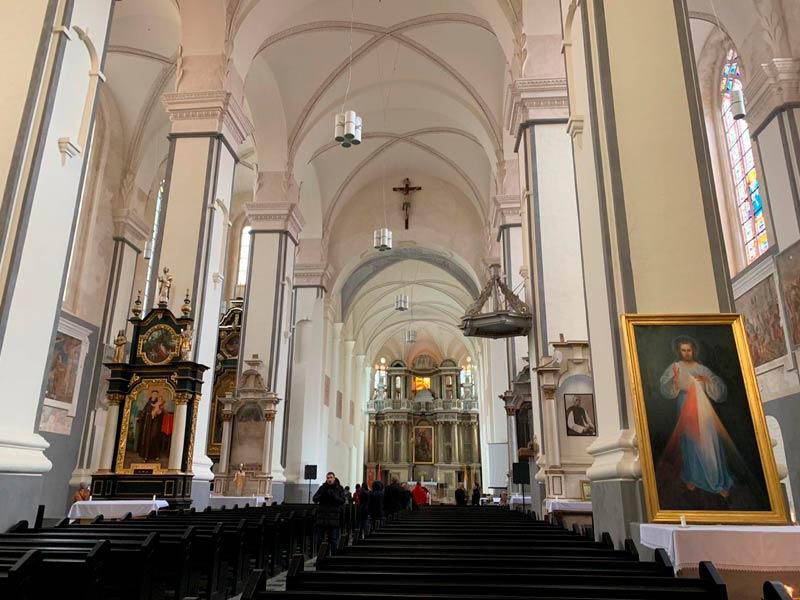 Костёл Святого Георгия с Бернардинским монастырём