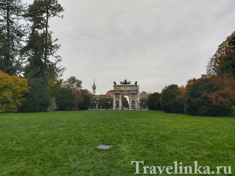 Арко делла Паче - триумфальная арка Милана