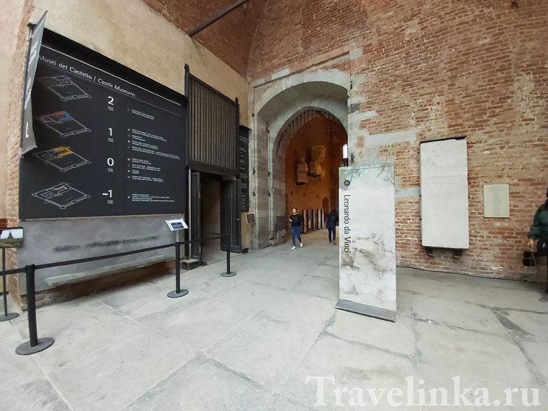 Музей в замке Сфорца