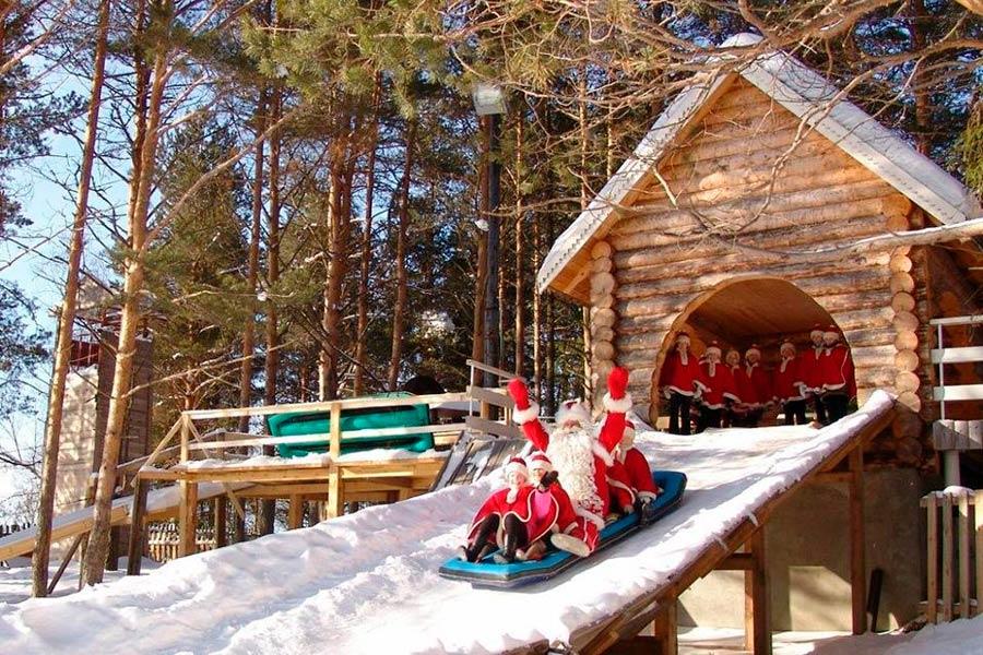 Терем Деда Мороза в Великом Устюге