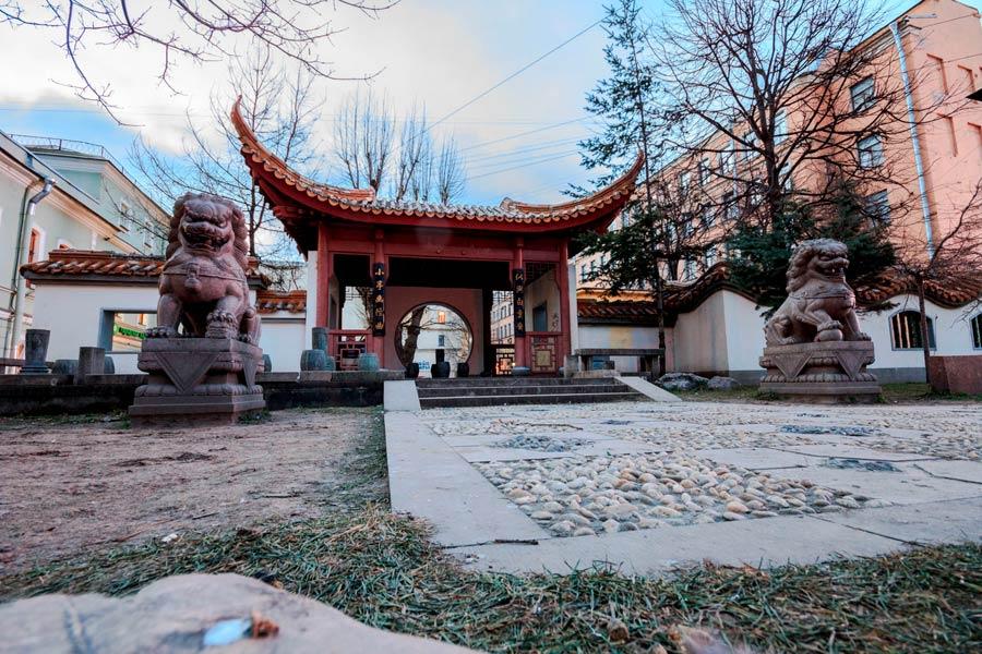 Китайский сквер
