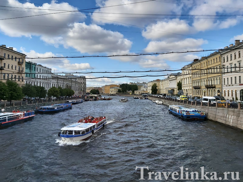 Реки и каналы Петербурга. Фонтанка