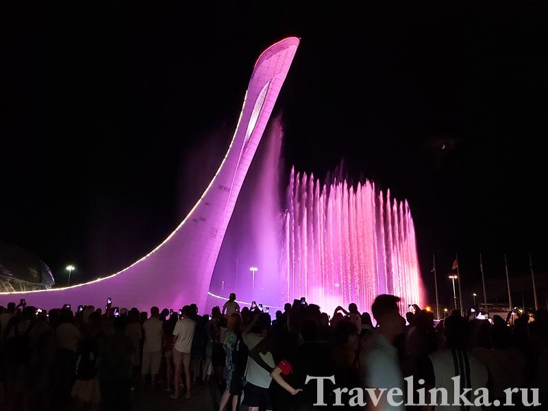 Шоу поющих фонтанов