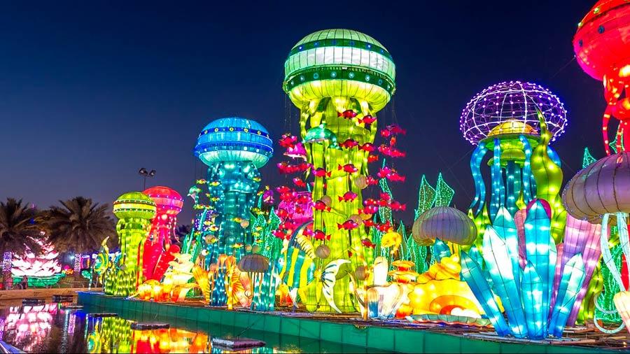 «Dubai Garden Glow»