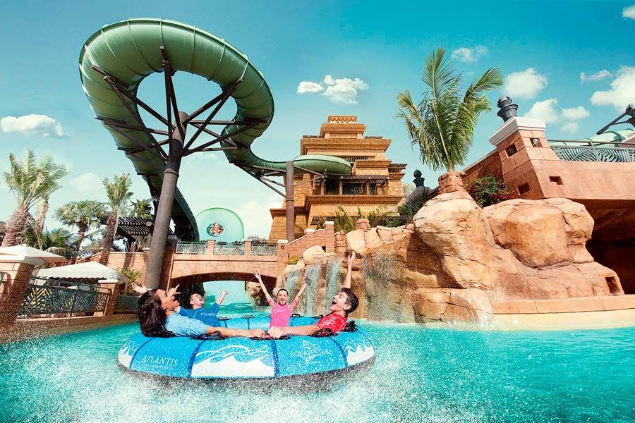 Аквапарк «Aquaventure»