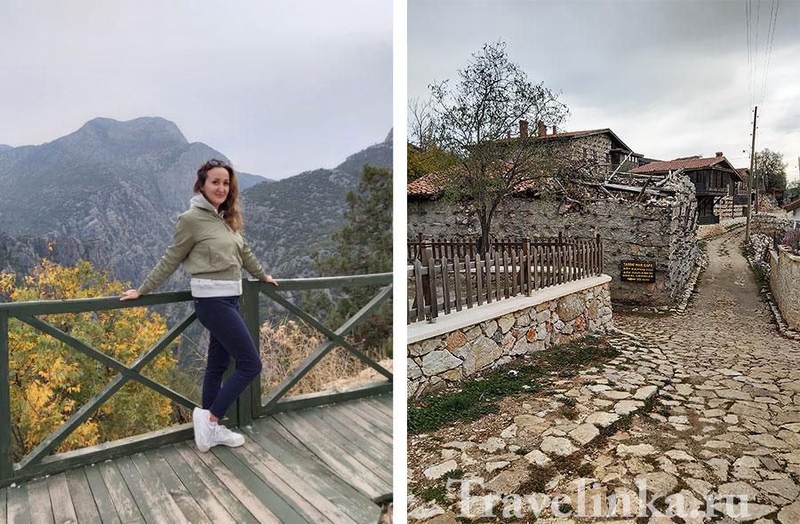 Автор статьи в Турции в горах в декабре около пещеры Алтынбешик