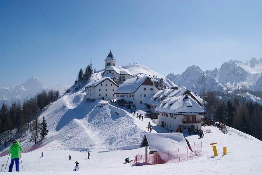 Италия зимой
