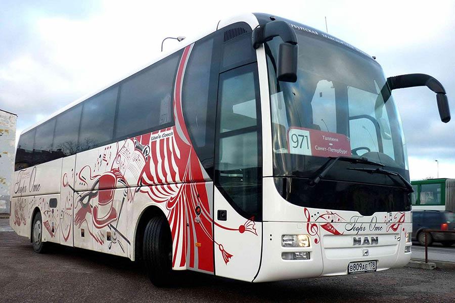 Из Санкт-Петербурга в Выборг на автобусе