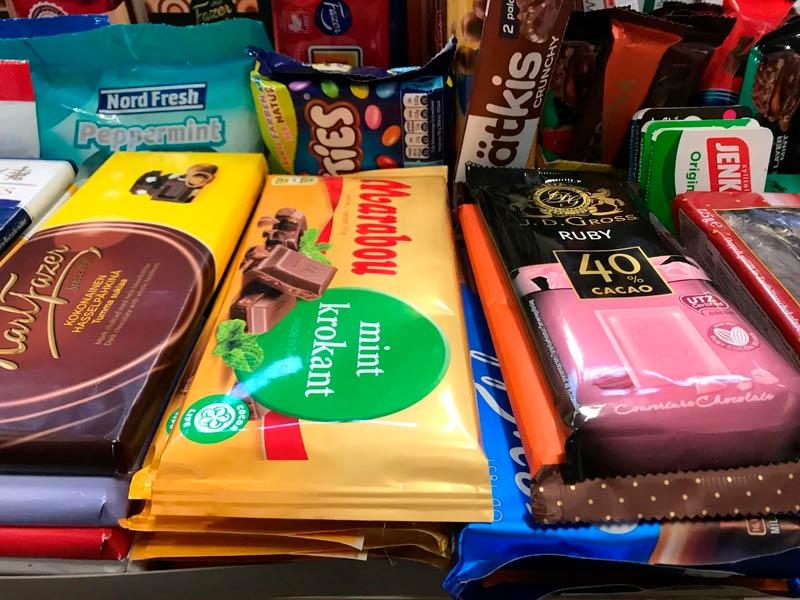 Шоколад и финские сладости
